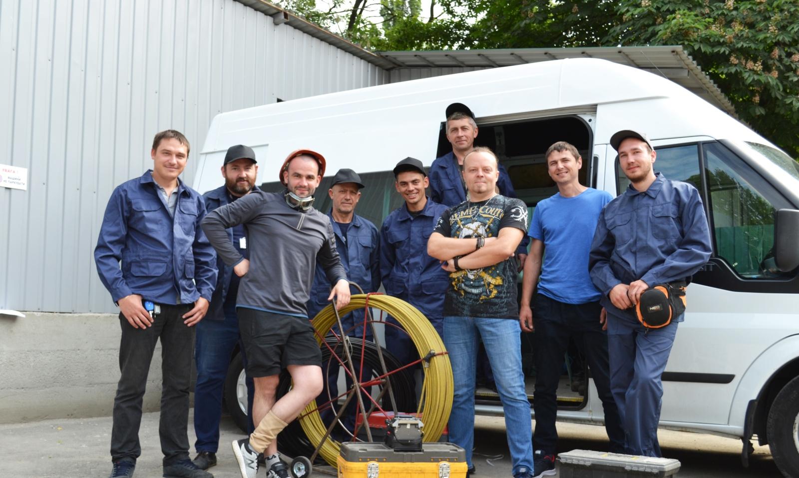 «Строим, как для себя» - главный приоритет работы строительной бригады телеком-оператора GigaTrans