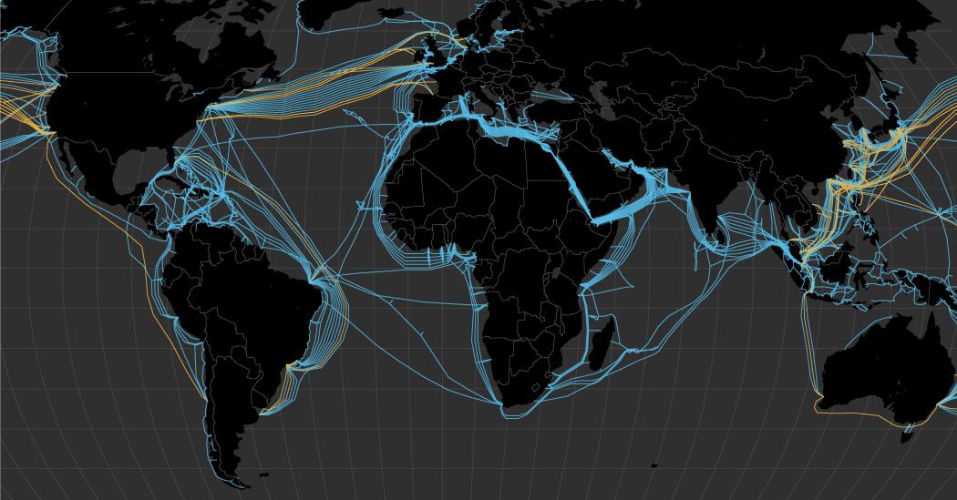 ТОП вражаючих проектів кабель-з'єднань світу, про які ви точно не чули